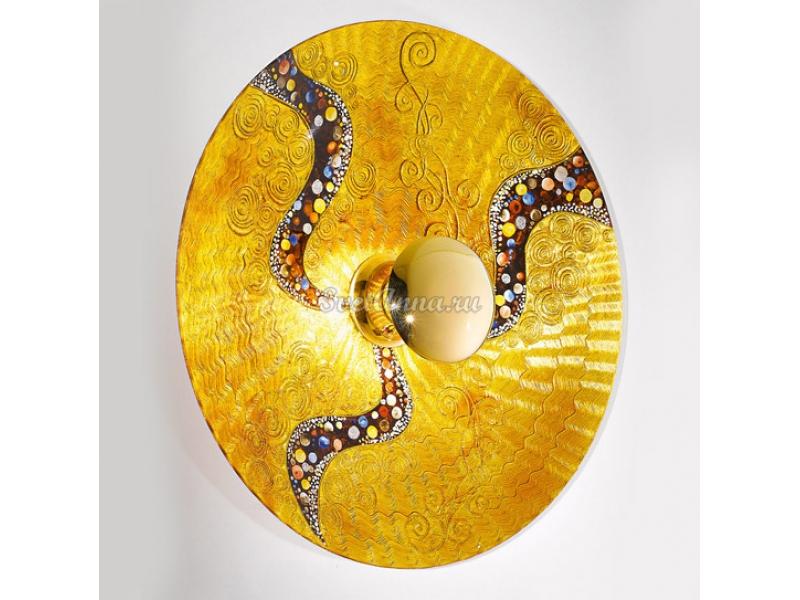 Светильник настенный Kolarz 0365.61XXL KISS GOLD