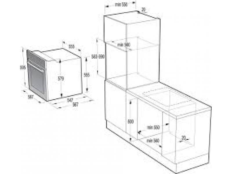 Духовой шкаф Gorenje BO 87 ORA