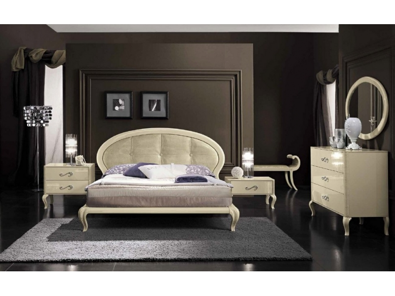 Кровать Camelgroup La Star Magic Ivory Diamante
